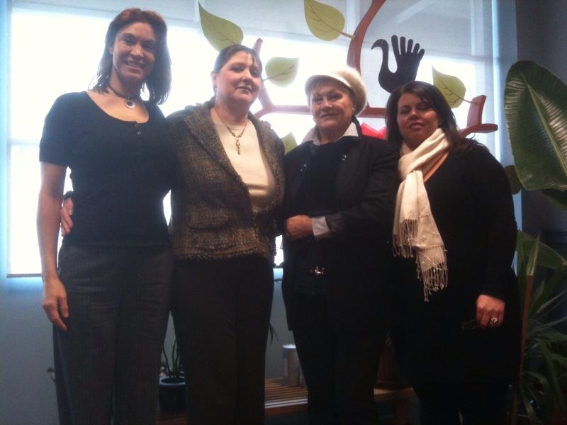 IECSC Staff, Melissa, Laura, Sina and Donna